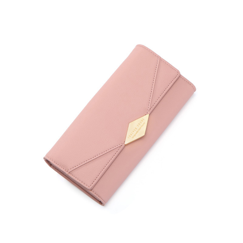 Forever Young Women's Wallet Female Long Leather Coin Card Holder Multifunction Ladies Clutch Purse Zipper Hot Phone Money Bag fashion girl change clasp purse money coin purse portable multifunction long female clutch travel wallet portefeuille femme cuir