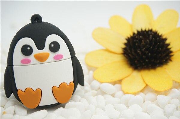 Usb Stick USB Flash Drive Animals cute penguin Usb flash drive 4GB 8GB 16GB 32GB 64GB USB Flash 2.0 Memory Drive Stick S740