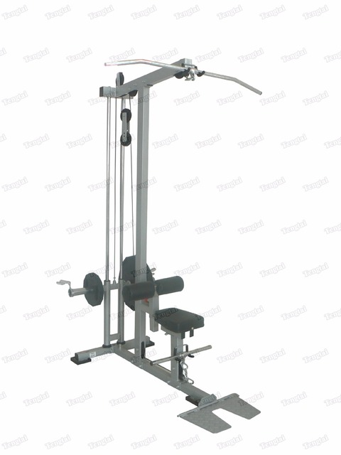 Home gym equipment th a with plate load weight body building