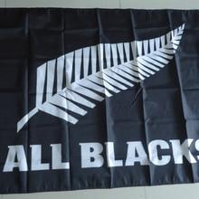Все Черный флаг, все черные баннер, 90X150 см размер, полиэстер, можно на заказ desgin