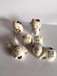 Новинка 5 шт. набор кухонных керамических палочек для еды держатель для отдыха для кошек