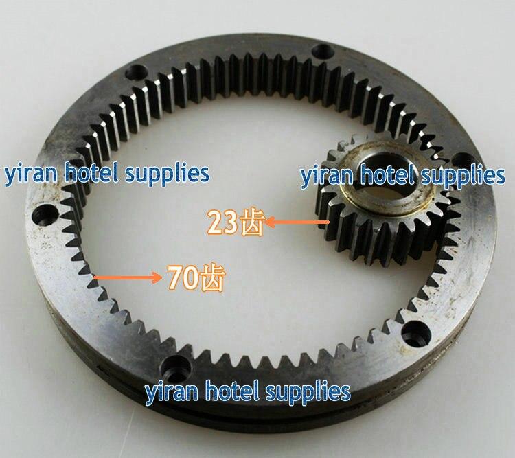 70 Teeth and 23 teeth Mixer eggbeater accessories internal gear ring gear planetary gear