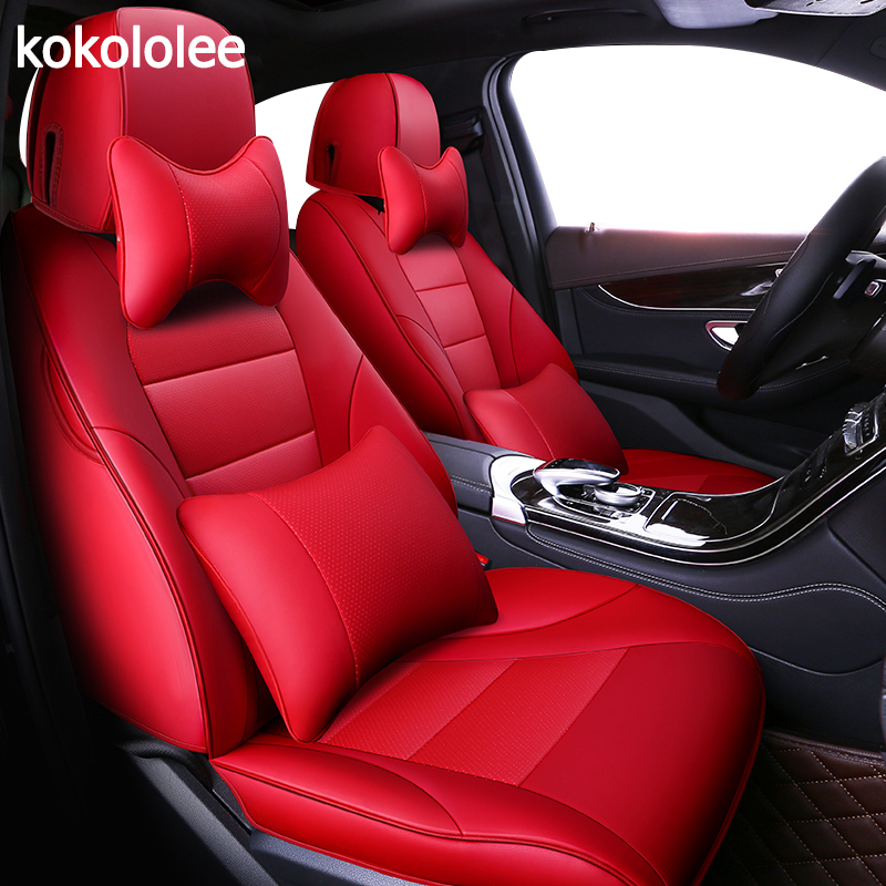 kokololee custom real leather car seat cover For audi TT R8 a1 a3 8p 8l sportback