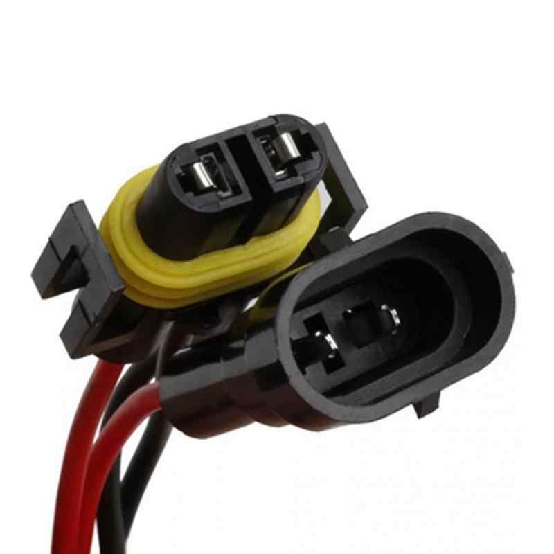 H11/H8 Resistência Linha de Luzes de Nevoeiro Decodificador LED Fog Lâmpadas LED Ouro Resistor Fixo