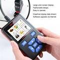 5 pçs/lote Autophix OBDMATE OM580 OBDII EOBD OBD2 Leitor de Código de Auto Scanner de Dados Claros J1850 ISO