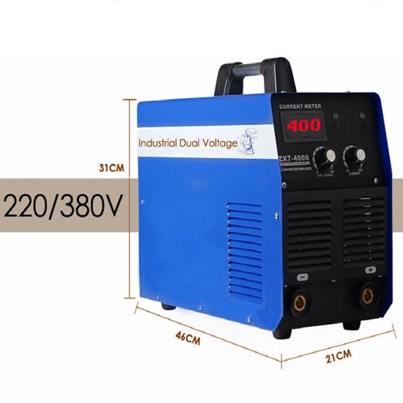 400A IGBT Inverter-schweißgerät Dual Voltage 220 V/380 V Tragbare Welder Elektrische Cnc-plasmaschneiden Schweißgerät für DIY