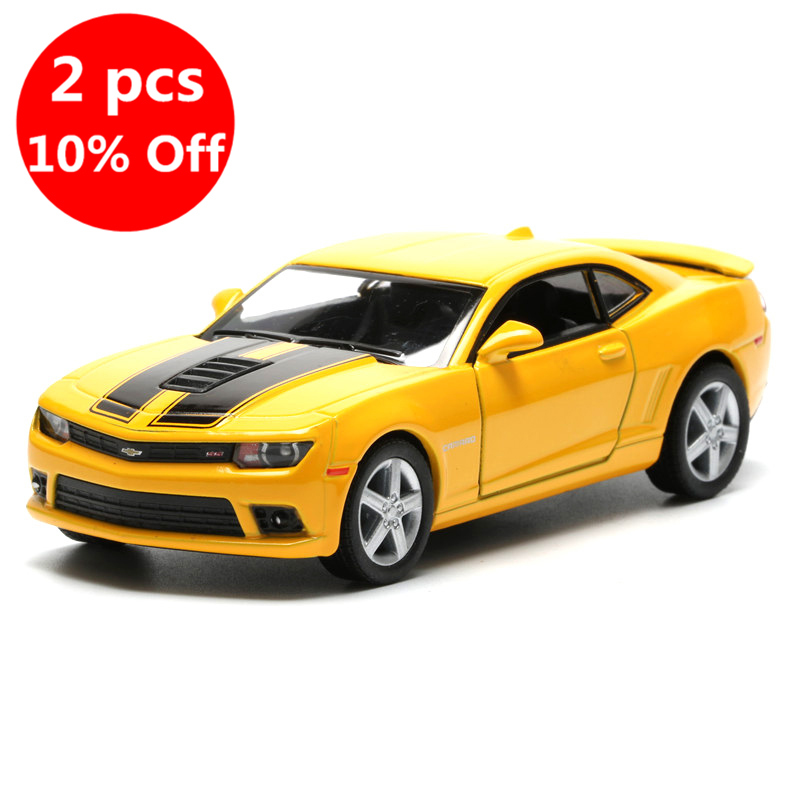 2018 1:38 Camaro Model Car Toy Simulation Alloy Pull Back Cars Toys For Children Gift
