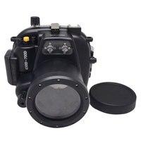Mcoplus 50M 160ft funda carcasa impermeable subacuática para Canon EOS 650D 700D Rebel T4i/T5i con lente de EF S 18 55mm o EF 50mm|waterproof housing case|case for canon|for canon eos -