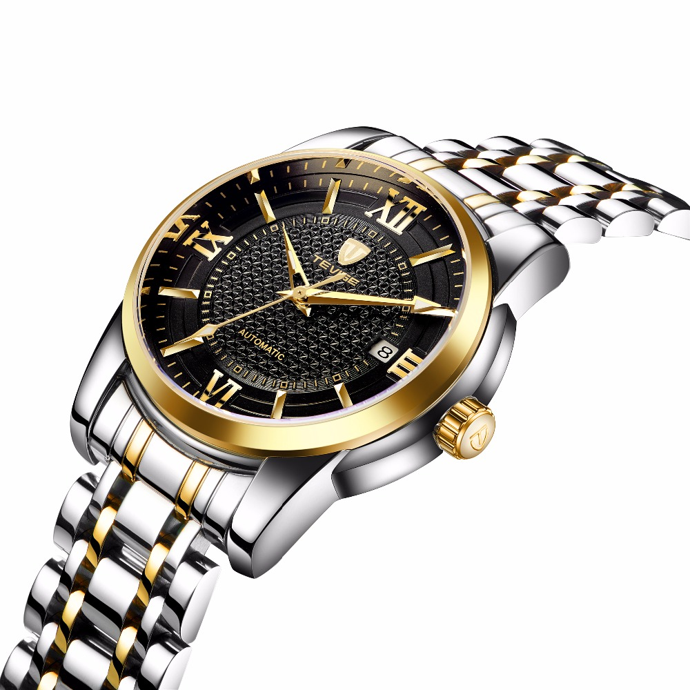 TEVISE Mens Watches Top Brand Luxury Mechanical Watches Luminous 30M Waterproof Watch Men Gift цена и фото