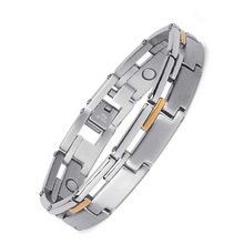 Male Magnetite Bracelet Jewelry Stainless Steel European and American Fashion