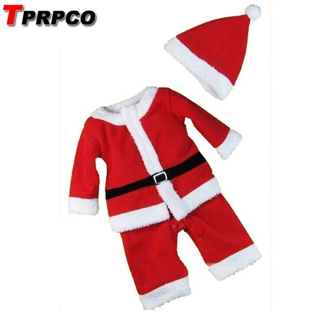 013ee031e TPRPCO ropa de bebé de Navidad traje de santa claus para bebés recién  nacido bebe mamelucos