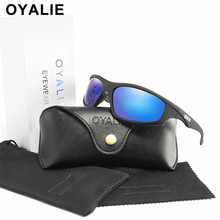 OYALIE 2019 New Polarized Sun Glasses Retro Drivers Night Vision Sunglasses Driving UV400 Goggles Men Accessories With Gift Box