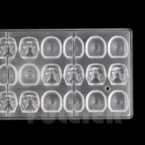 Image 3 - Halloween 3D skull Shape Polycarbonate Chocolate Mold DIY kitchen confectionery tools cake decoration baking candy mould