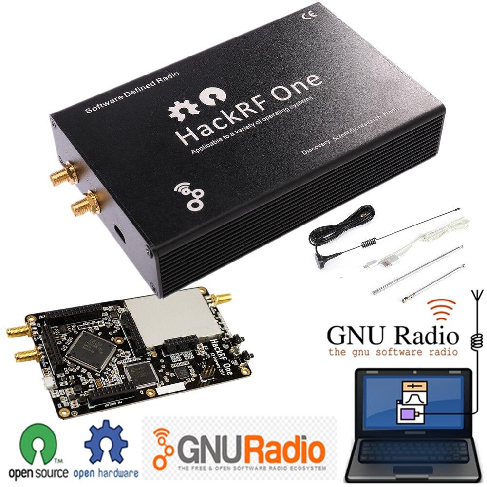 HackRF Un 1 mhz-6 ghz SDR Software Defined Radio Signal Board Bordo di Sviluppo Della Piattaforma Ricetrasmettitore con il Ferro Borsette Aperto fonte di