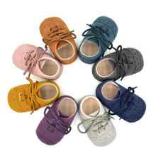 Brand Vintage Rubber Bottom Baby Shoes N