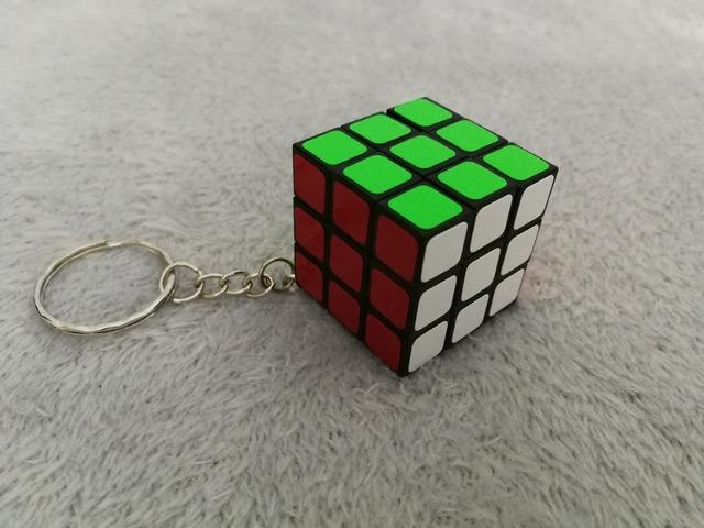 Classic Rubik's Cube Keychain