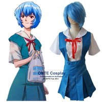 Neon Genesis Evangelion EVA Cosplay Costumes Ayanami Rei Women Uniform Asuka Langley Soryu Fancy Party Clothes