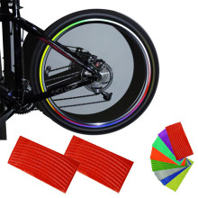 New Wheel Reflective Bike Cycling Rim Sticker, Rim Stripe Decal sticker,Bicycle Accessories Retail&Wholesale Free Shipping