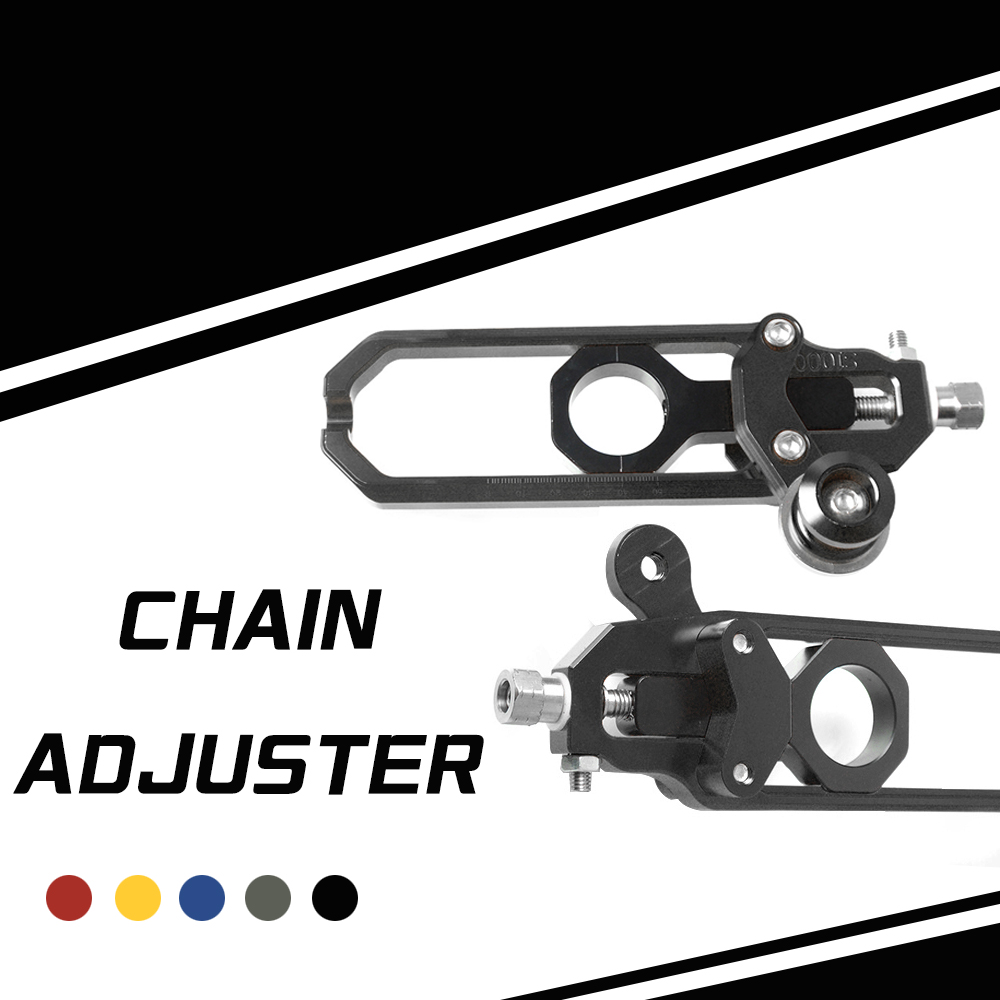 Motorcycle Chain Adjuster Tensioners For BMW HP4 2012 2014 S1000R 2014 2015 S1000RR 2009 2016 Aluminum Chain Regulator Tensioner