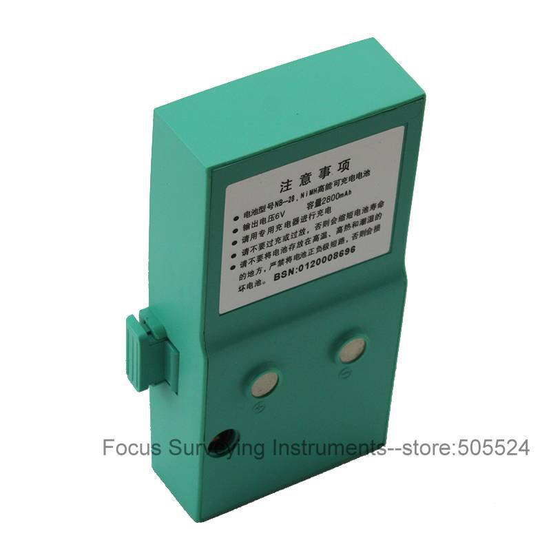 Retail/Wholesale RUIDE Total Station Battery NB-28 For RTS 820/822/822R3/ /R5 Series Total Station Free mail shipping  цены