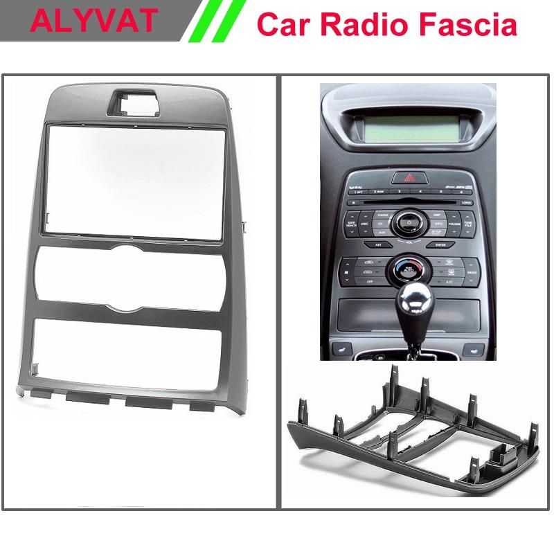 Car Audio radio Dash For HYUNDAI Genesis Coupe,Rohens Coupe (Auto Air-Conditioning) Stereo Facia Dash CD Trim Install Kit