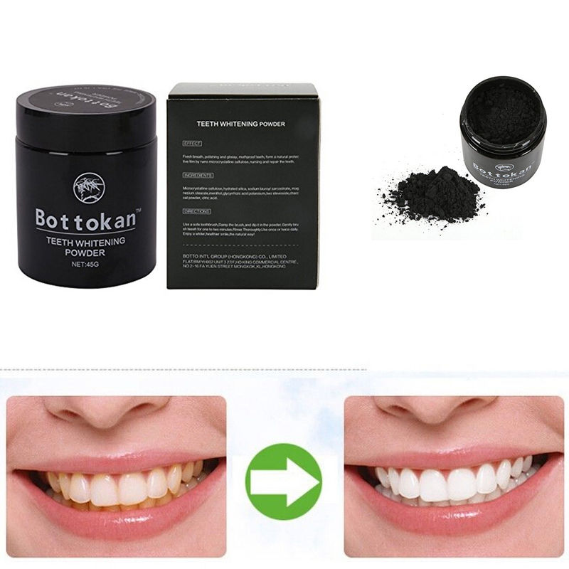 Bamboo Charcoal Activated Whitening Teeth Powder Dental Material Instrument Tooth Yellow Stain Teeth Powder Dropshipping