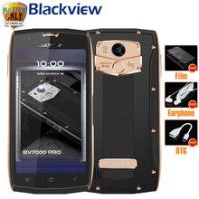 """Blackview BV7000 про мобильный телефон IP68 Водонепроницаемый MT6750T Octa Core 5.0 """"FHD 4 ГБ 64 ГБ отпечатков пальцев ГЛОНАСС пыли доказательство смартфон"""