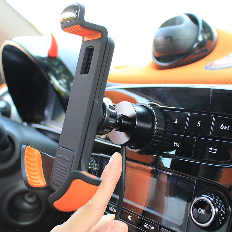 Smart 453 Fortwo Forfour 360 Rotation Mobile Phone Holder car air vent mount GPS car mobile phone holder