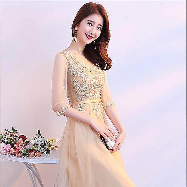 515b9904962 ZJ7003 Evening Gowns Sweetheart Gold Sequins Tulle Evening Dresses Long  2018 Best Selling Size 4 6