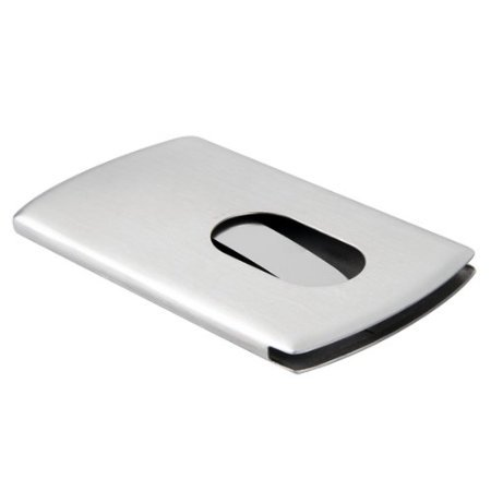 Stainless Steel Name Business Credit Card Holder CaseStainless Steel Name Business Credit Card Holder Case