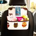 Assento de carro de volta saco de armazenamento organizador dos desenhos animados telefone do carro-styling varia ipad estiva tidying pendurado acessórios de automóveis interior