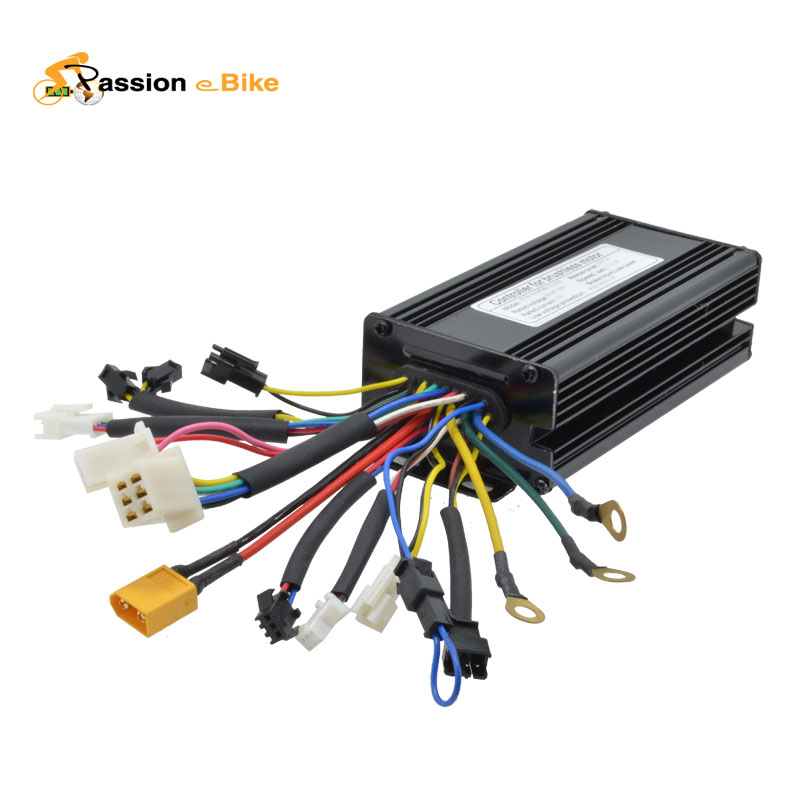 48V 1500W 1000W Black Brushless DC Regenerative Function Motor Controller Electric Bicycle Parts - Pasion eBike store