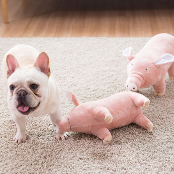Cute Pig Plush Dog Toy  1