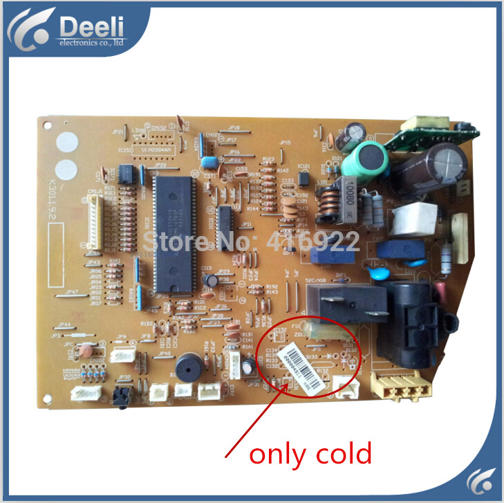 95% new good working for air conditioning circuit board K301.1.9.2 computer board good working цена