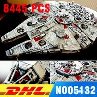 Compatible 75192 LEPIN 05132 8445 PCS Ultimate Wars Collector S Millennium Falcon Model Building Kit Blocks