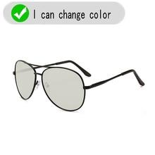 2018 Men New Driving Photochromic Sunglasses Men Polarized Chameleon Discoloration Sun glasses for men fishing sunglasses UV400