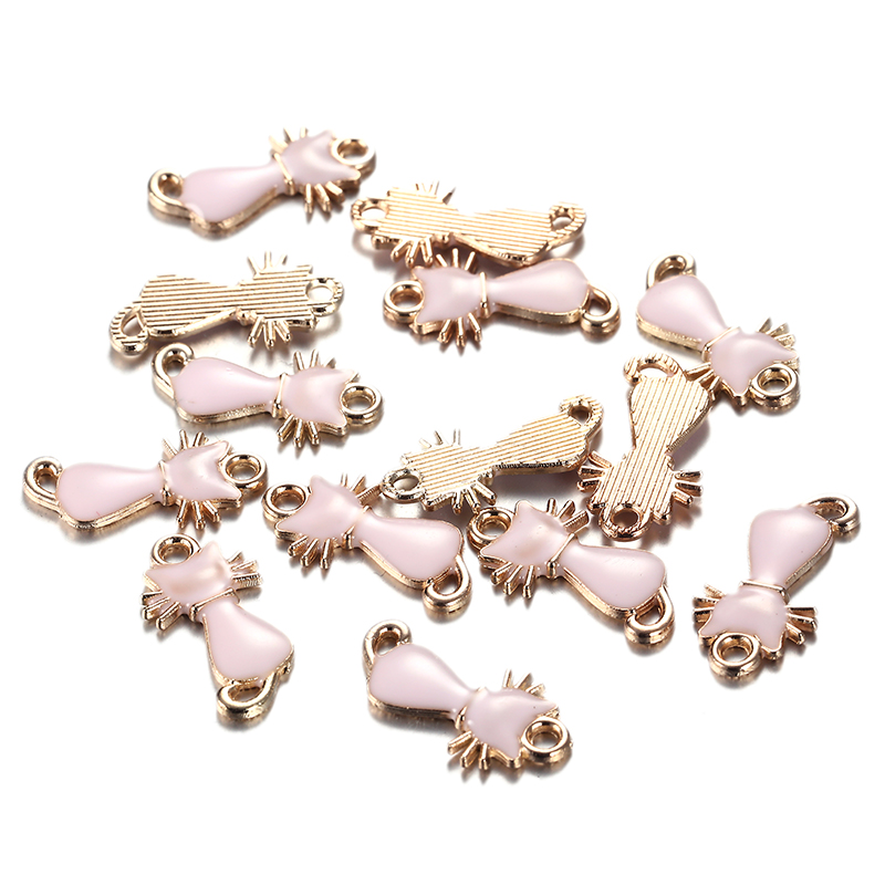 Pig Charm//Pendant Enamel /& Alloy Pink 22mm  5 Charms Accessory Jewellery Making