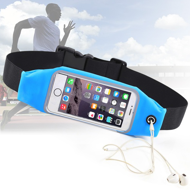 New Waterproof Pocket Sport Running Bag Belt Waist Case Pouch Mobile Phone Cover For LG  ...