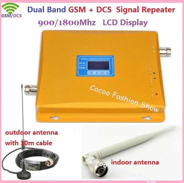 ZQTMAX 2G 4G Dual Band Mobiele Telefoon Signaal Booster DCD GSM Repeater 900 1800 Cellulaire Versterker met Zuignap cup antenne-in Mobiele telefoon houders & Standaarden van Mobiele telefoons & telecommunicatie op AliExpress - 11.11_Dubbel 11Vrijgezellendag 1