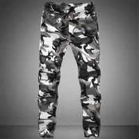 BSETHLRA 2018 New Joggers Pants Men Camouflage Military Pure 100% Cotton Spring Autumn Harem Pant Men Trousers Camo Mens Joggers 1