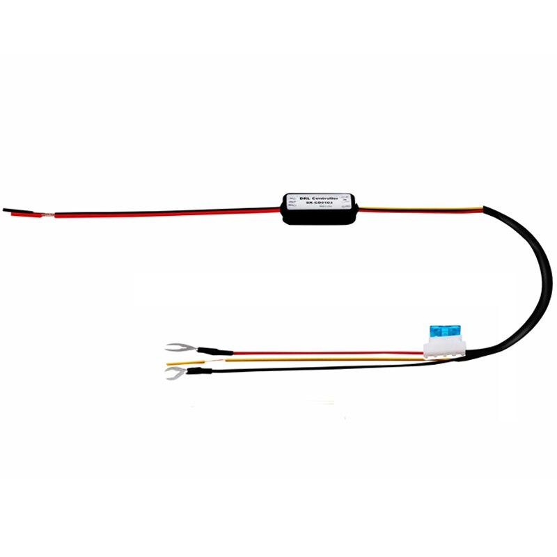 DRL Controller Auto Car LED Daytime Running Light Relay Harness Dimmer On Off 12 18V Fog DRL Controller Auto Car LED Daytime Running Light Relay Harness Dimmer On/Off 12-18V Fog Light Controller 2016