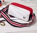 Portable small white canvas shoulder bags designer casual bag unisex chest waist pack necessity travel bag bolsa gimnasio