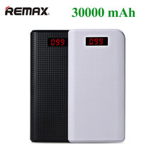 REMAX Proda Power Bank 30000mAh 2 USB LED Portable Charger External Battery Universal Backup powers For iPhone For Samsung