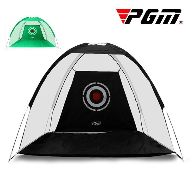 Indoor Outdoor 2m Golf Practice Net Golf Hitting Cage Garden Durable Grassland Practice Tent Golf Training Equipment A960