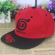 Hot New Japan Anime Comic Naruto Cap Hat Baseball Hats Snapback Caps Adjustable Hip Hop Outdoor Casual Hat For Men Women w196