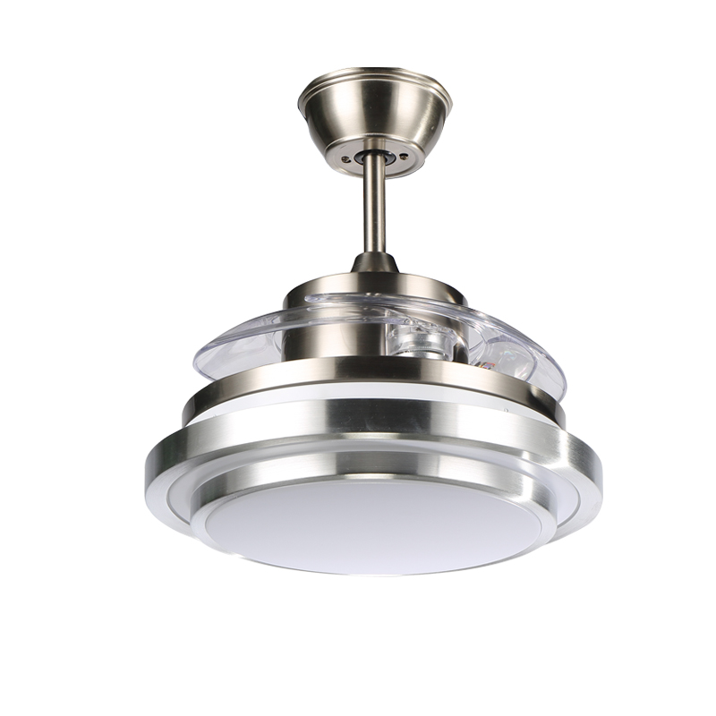 Steel small ceiling fan blades with lights crystal ikea quiet steel small ceiling fan blades with lights crystal ikea quiet ventilador luxury aluminum folding retractable in ceiling fans from lights lighting on aloadofball Image collections