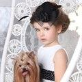 Свадебные Головные Уборы для Невесты Чародей Волосы Hairbands Старинные Сладкий Партия Цветок Перо Аксессуары для Волос для Детей и Взрослых