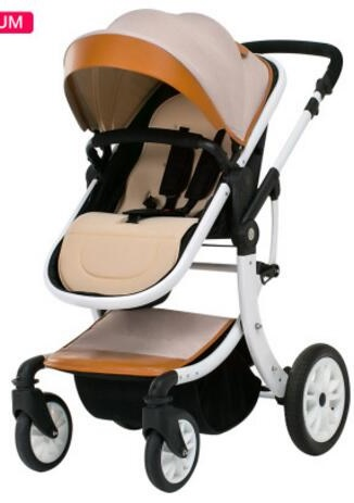 Stroller Teknum, 2 in 1. Stroller goes along with the cradle. A beautiful design and functionality. Free shipping