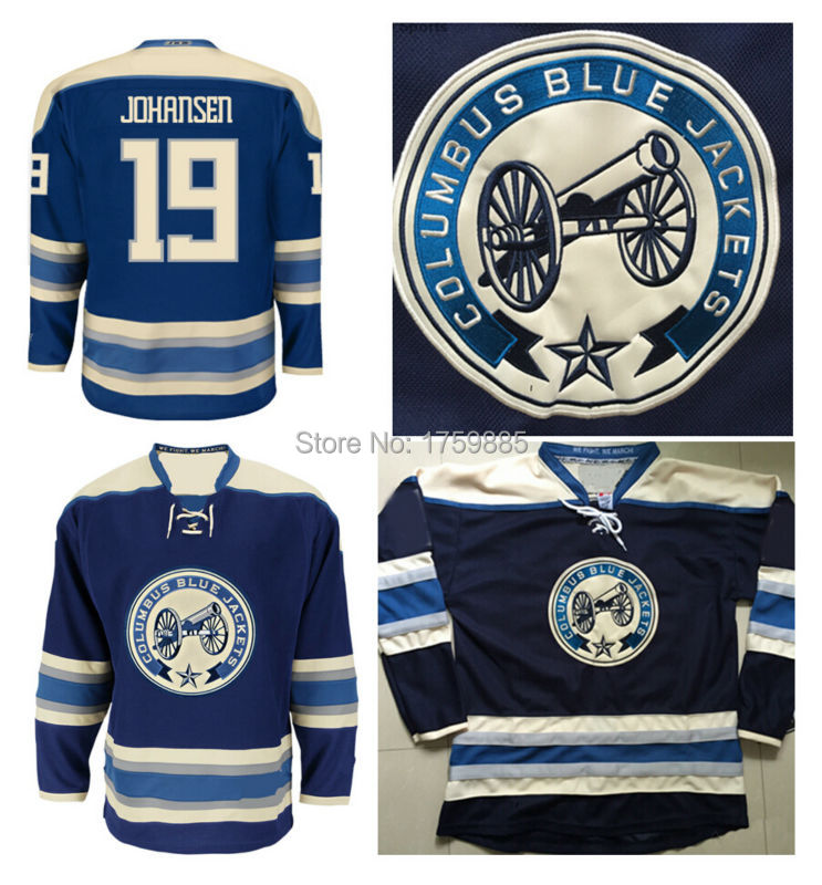 half off f8982 a1637 Best Quality Columbus Blue Jackets Jersey Alternate Navy ...