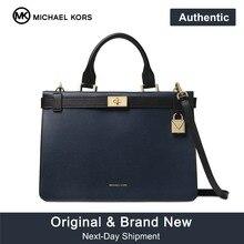 f11fd3b2fdc Michael Kors Tatiana Medium Lederen Satchel Luxe Handtassen Voor Vrouwen  Tassen Designer door MK(China